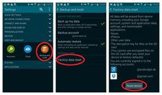 Android App and Tricks: Samsung Galaxy S5 Factory Reset tips