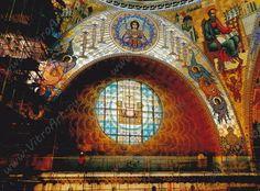 Северное окно Морского собора.
