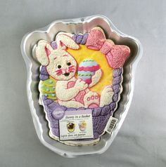 Bunny in a Basket Cake Pan