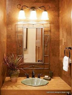 #MarkCutlerDesign #simple #ideas #decor #bathroom #refresh #lighting #lights