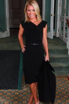 Love the assymetric neckline!!  Black Halo Jackie O Sheath Dress in Black