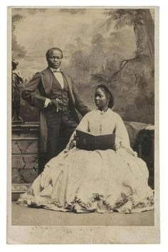 Queen Victoria's Black Princess At the age of five, Sarah Forbes Bonetta Davies, born into a royal Yoruba dynasty, was taken to England and presented to Queen Victoria as a Black History Facts, Black History Month, Strange History, African American History, British History, Tudor History, Vintage Photographs, Vintage Photos, Vintage Wedding Photos