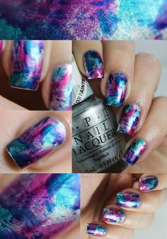 OPI Color Paints •Look One: Brushstrokes•