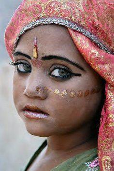 Indian beautiful face