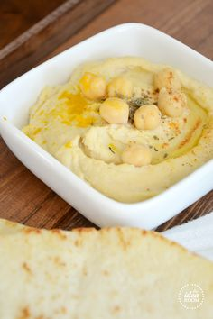 Hummus recipe using dried chick peas 300 Calorie Breakfast, Appetizer Recipes, Appetizers, Vegetarian Recipes, Healthy Recipes, Savoury Baking, Yummy Food, Tasty, Bon Appetit