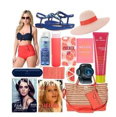 """""""ABbz Set #94"""" by andy-barbz on Polyvore featuring Unique Vintage, Isolá, Kate Spade, Eugenia Kim, Sunnylife, MDSolarSciences, Beats by Dr. Dre, Klorane, PHAIDON and Eos"""