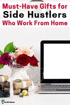 Holiday Gift Guide: Great Gifts for Side Hustlers Who Work From Home my debt epiphany Earn Extra Cash, Extra Money, Earn More Money, How To Make Money, Money Fast, Holiday Gift Guide, Holiday Gifts, Financial Goals, Financial Planning