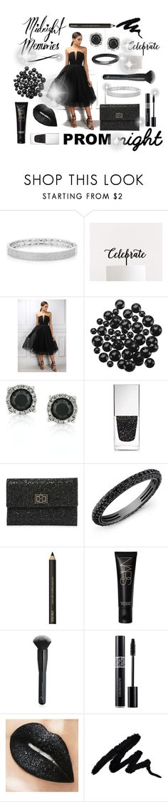 """""""Prom: Midnight Memories Contest"""" by numeangeleyes on Polyvore featuring Anne Sisteron, Limited Edition, Mark Broumand, Givenchy, Anya Hindmarch, NARS Cosmetics, Charlotte Russe, Christian Dior and Prom"""