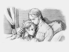 Lenoir: The whole tragic love story in pictures of French called Thomas and Martha. Unfortunately, not on the chronology of events since I do not know this story . Character Sketches, Character Design, Character Art, Art Of Love, Sad Art, Disney Beauty And The Beast, Steampunk, Animation, Victorian