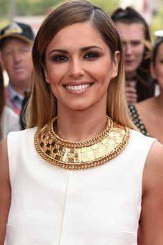 Cheryl Cole with layered medium length hair - Cheryl Cole's Hair History