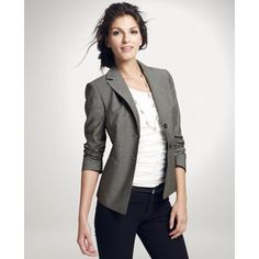 Ann Taylor - I love to wear jeans with a jacket