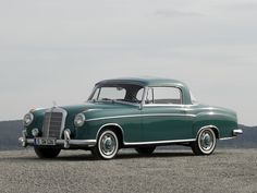 Mercedes-Benz 220 S Coupe (W180 II) '1956–59