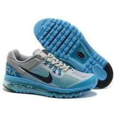 http://www.asneakers4u.com/ Cheap air max 2013 for mens shoes blue gray lrd Sale Price: $66.10