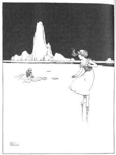 These illustrations came from: Andersen, Hans Christian. Hans Andersen's Fairy Tales. W. Heath Robinson, illustrator. London: Constable & Co., 1913.