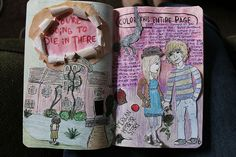 wreck this journal 5sos - Google Search