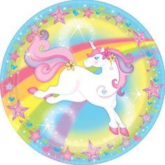 Unicorn Magic Lunch Plates