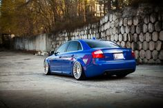 #Audi_A4_B6 #Modified #Stance #Slammed