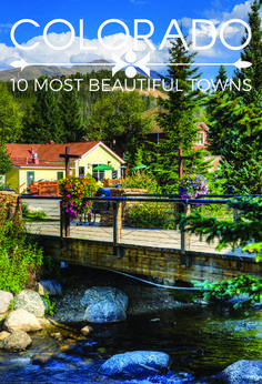 10 Most Beautiful Towns in Colorado, USA The 10 Most Beautiful Towns In Colorado 2 of my favs are on here! Crested Butte and Telluride!The 10 Most Beautiful Towns In Colorado 2 of my favs are on here! Crested Butte and Telluride! Road Trip To Colorado, Moving To Colorado, Visit Colorado, Colorado Homes, Colorado In The Summer, Colorado Vacations, Train Rides In Colorado, Colorado Springs Things To Do, Living In Denver Colorado