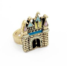 Korean Style Cute Castle Ring