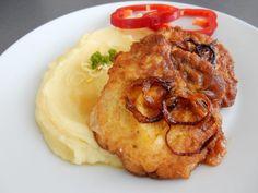 Nejlepší recept na Obrácené řízky - Recepty pro každého - Masová jídla Tandoori Chicken, Food Videos, Mashed Potatoes, Pork, Food And Drink, Menu, Cooking Recipes, Ethnic Recipes, Plants