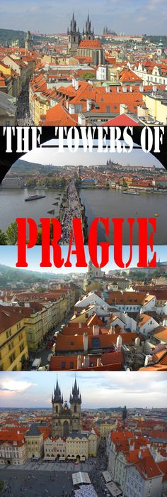 One of the things I love about Prague are the views from some of its towers. This post features the best towers in Prague: http://bbqboy.net/photo-essay-towers-prague/ #prague #czechrepublic