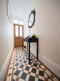 The Falkirk pattern, Victorian Floor Tiles by Original Style