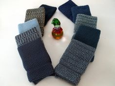 Dishcloths Knit in Cotton in Blue Bundle by TheNeedleHouse on Etsy, $37.99