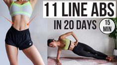 Abs in 20 days! Get 11 Line Abs like KPOP Idol min home workout) ~ Emi # ., If you're looking to teach your abs, the good thing is that there are certainly a huge number of , V Line Workout, Kpop Workout, 15 Min Workout, Abs Workout Routines, Workout Videos, Gym Workouts, At Home Workouts, Daily Routines, Best Abdominal Exercises