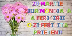 20 Martie Ziua Mondiala a Fericirii O zi fericita prieteni! Martie, Box, Snare Drum