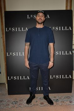 MILAN, ITALY - FEBRUARY 28 2015: Mondo Marcio attends the Le Silla - Fall Winter 2015 Collection Presentation as part of Milan Fashion Week Womenswear Fall Winter 2015 on February 28, 2015 in Milan, Italy.