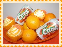 """Tasty Sweet: Chronicles of a Cupcake Artist: Orange """"Yet To Have A Real Name"""" Cupcakes"""