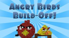 Angry Birds in Minecraft (Build Battle)