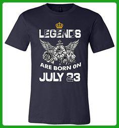 Legends Are Born On July 23 Unisex T-Shirt Birthday Gift - Birthday shirts (*Amazon Partner-Link)