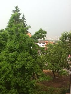 View overlooking Sofia, Bulgaria