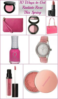 Not only is spring my favorite season of the year but the color pink is my  favorite hue of all time.  If I am shopping for fashion, makeup or accessories my eyes always zoom in for the perfect pink item.