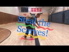 PE Game - Steal the Scarves - YouTube Gym Games For Kids, Pe Games, Youth Games, Dance Games, Elementary Physical Education, Elementary Pe, Health And Physical Education, Pe Activities, Physical Activities