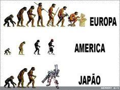 Evolução Humana POR LUGARES KKKKKKK