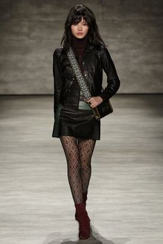 Rebecca Minkoff Takes a Risk, Goes Punk Patti Smith for F/W 15 via @WhoWhatWear