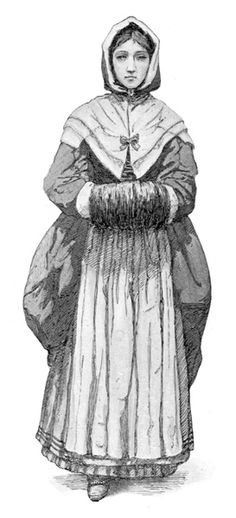 Colonial Clothing for Women | Colonial Clothing: Puritan Colonist