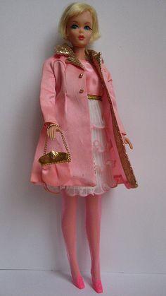 """Hair Fair Barbie in Penneys' """"Pink Premiere"""" (1969)"""