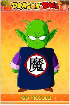 Dragon Ball - Kid Piccolo por DBCProject