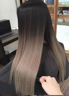 7 Hottest Hair Color Trends For 2019 : New Hair Color Ideas When you will look for a hair shading thought which will give you a hot portrayal, you should try a substantial number of alternative from a colossal measure of hair shading choices. to decrease Brown Ombre Hair, Brown Hair Balayage, Hair Color Balayage, Hair Highlights, Ombre For Long Hair, Medium Length Ombre Hair, Balayage Hair Brunette Straight, One Length Hair, Bayalage
