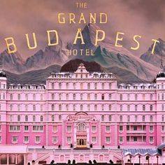 The Grand Budapest Hotel - It is impossible not to get inspired by this magnificent movie. Every scene is gorgeous to look at, full of candy colors, eye-popping visuals and fantastic camera movements.