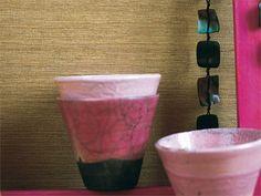 Papel pintado liso de vinilo ZANZIBAR - Elitis