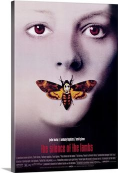 Silence of the Lambs (1990) Solid-Faced Canvas Print