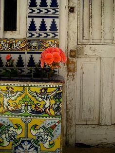 """maisyhaze: """" bohemianhomes: """" Bohemian Homes: TIle Work """" Bohemian House, Bohemian Interior, Bohemian Decor, Interior Inspiration, Design Inspiration, Interior Ideas, Living Colors, Sweet Home, Deco Boheme"""