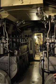 Submarine Vesikko. Suomenlinna, Helsinki