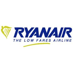 All right, all right, it's Ryanair. But, all jokes aside, you can fly to and from Edinburgh and Glasgow to a variety of cities on the Continent. Glasgow, Edinburgh, All Jokes, Airline Logo, Logo Branding, Logos, Scotland, Coding, Lettering