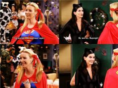 The one with Supergirl/Phoebe
