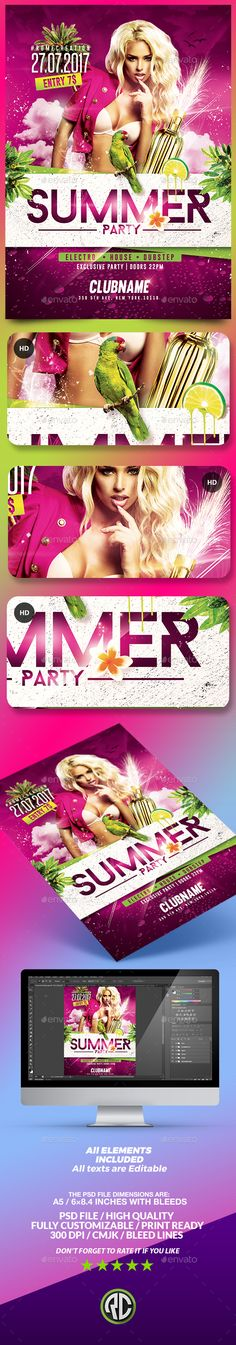 Lust After Night Flyer Vol   Flyer Template Flyers And Party Flyer
